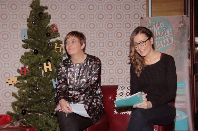 El comercio oscense lanza la campaña 'Compra en Huesca por Navidad' para fomentar el consumo local