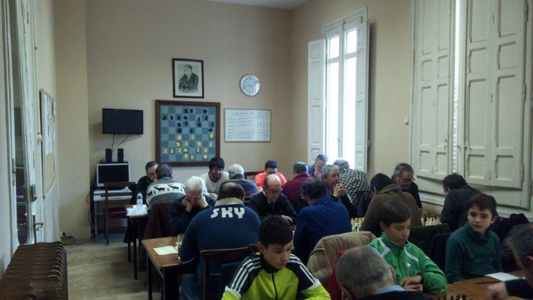 Monzón sigue arriba en la segunda ronda del Campeonato de Aragón por Equipos de Ajedrez