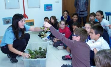 El Aula de Naturaleza de la Diputación de Huesca inicia su actividad en el Bajo Cinca en la que participan 1.400 alumnos