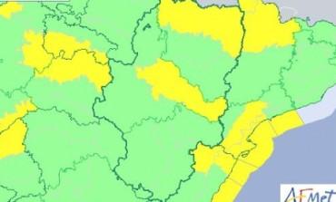 Aviso amarillo por viento en el Pirineo y la Ribera del Ebro para este martes