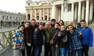 La Asociación Down Huesca viaja a Roma para reforzar los lazos con la  Comunitá de San Pío de Geraci Sículo