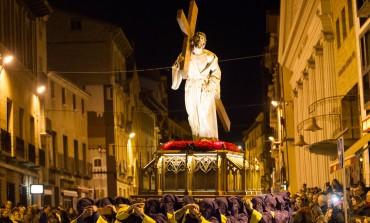 Emotiva Procesión de Nuestro Padre Jesús Nazareno este Miércoles Santo en Huesca
