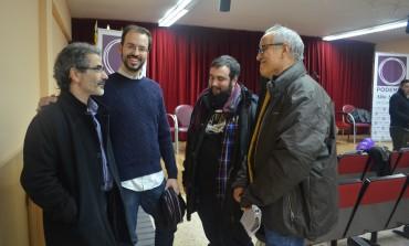 Jorge Luis Bail explica en Barbastro la actividad parlamentaria que desarrolla en Madrid Podemos-Alto Aragón en Común