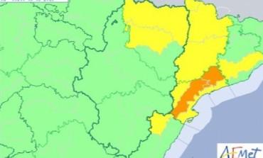 Aviso amarillo por viento en Huesca y el Pirineo y nevadas en el Pirineo