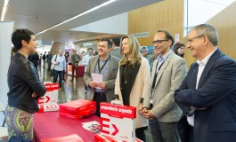 La consejera de Innovación, Investigación y Universidad del Gobierno de Aragón inaugura la XIII Feria de Tiendas Virtuales en Walqa