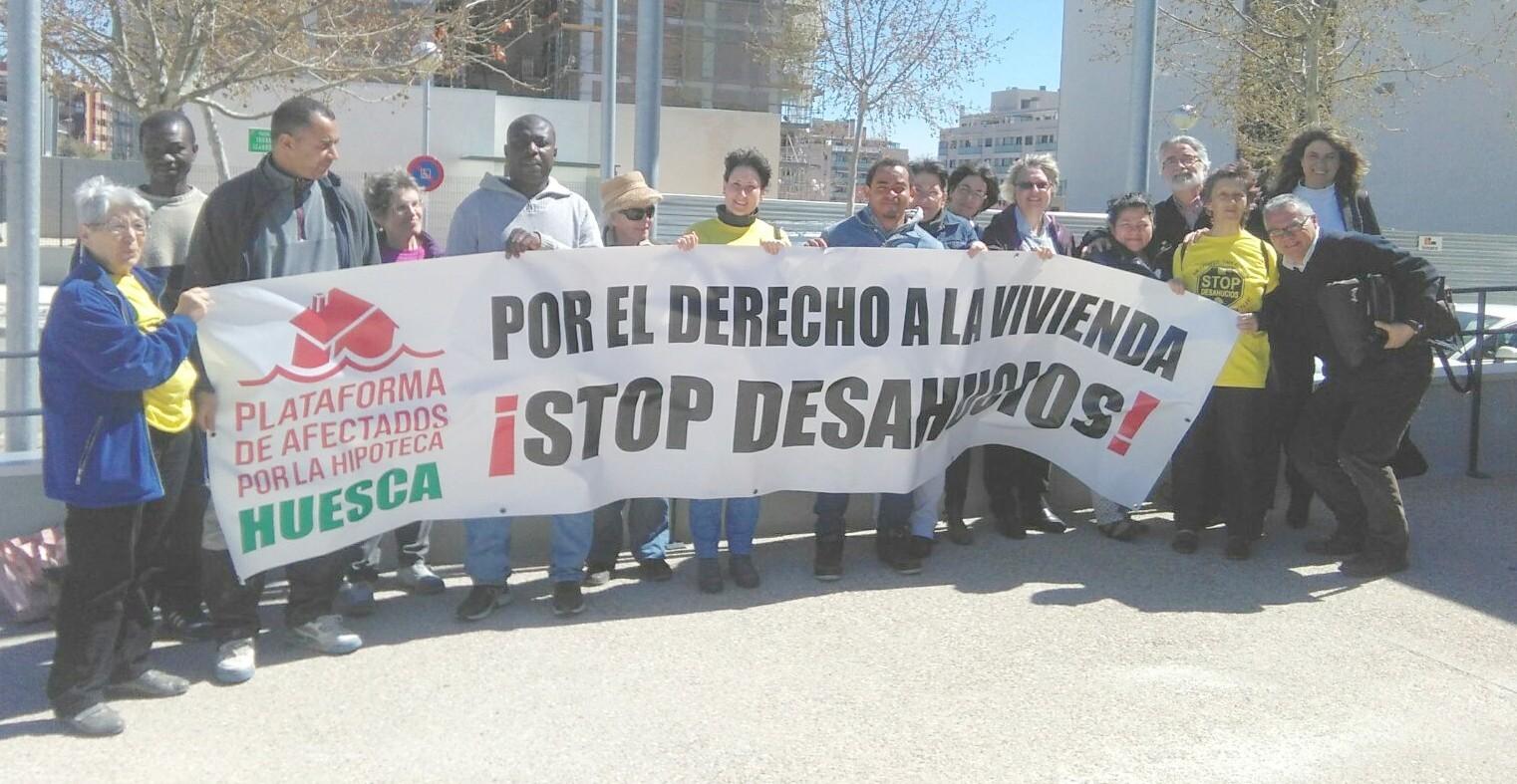 Nueva sentencia contra ibercaja en huesca por la cl usula for Sentencia clausula suelo 2016