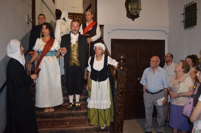 El Palacio Valdeolivos de Fonz regresa a 1814 con una nueva visita teatralizada