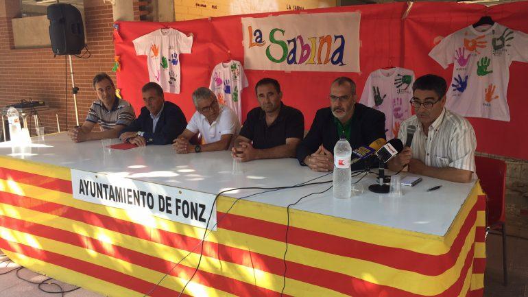 Unas 700 personas caminarán desde Barbastro, Monzón y Binéfar hasta Fonz el 1 de octubre para celebrar los 25 años Down Huesca