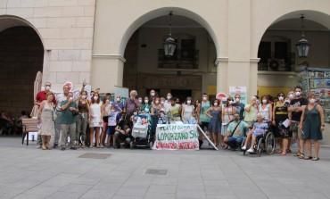 Plataforma Loporzano SIN Ganadería Intensiva convoca una concentración en Huesca por los olores a purines