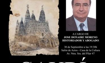 Tres citas del fin de semana en Monzón: conferencia y exposición sobre Gaudí, marcha de Down-Huesca y marcha de AFEDAM
