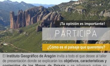 Presentación del proyecto para la elaboración del Mapa de Paisaje de las comarcas de Hoya de Huesca, Somontano de Barbastro, Cinca Medio y La Litera