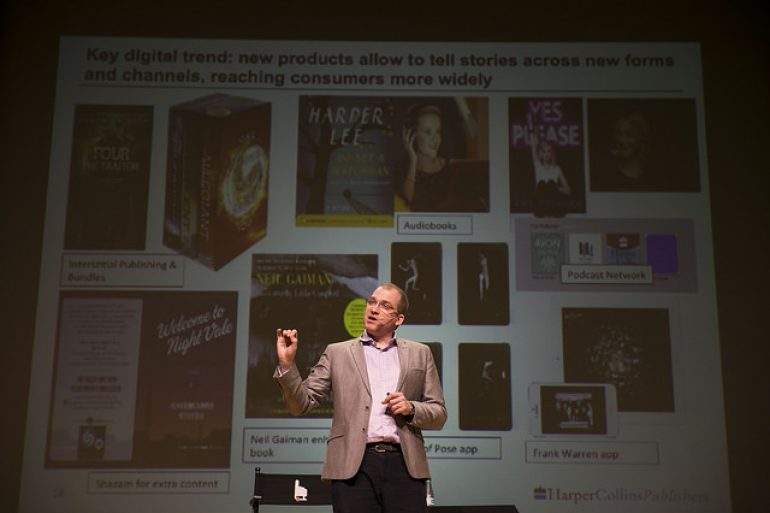La irrupción del audiolibro en español, a debate en el Congreso Ebook