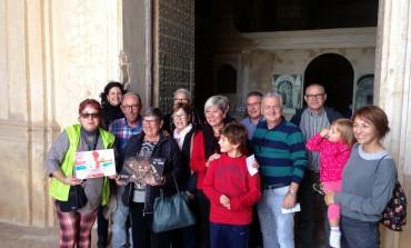 La Cartuja de Monegros recibe a la visitante número 1.000