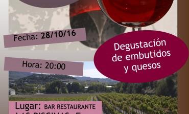 Cata de vinos de la D.O. Somontano, quesos y embutidos este viernes en el restaurante de las Piscinas de Fonz