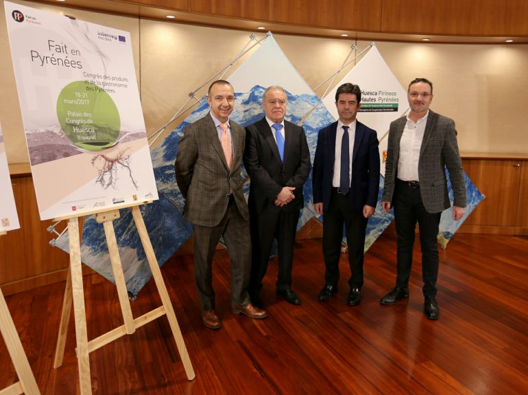Huesca albergará un ambicioso congreso que aglutinará a todo el sector gastronómico de los pirineos oscenses y franceses