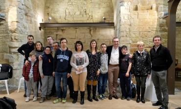 Down Huesca lleva sus reivindicaciones por la inclusión social a Fraga