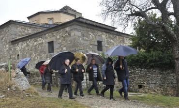 La Diputación de Huesca seguirá mejorando los accesos al monasterio de San Victorián