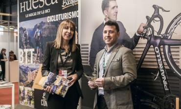 TuHuesca promociona en FITUR la provincia de Huesca como destino cicloturista