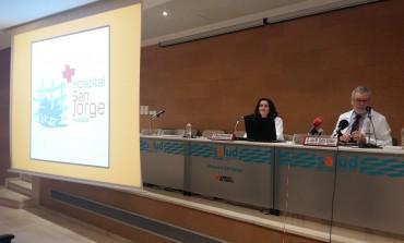 El Hospital San Jorge de Huesca ya tiene cartel y logotipo para su 50 aniversario