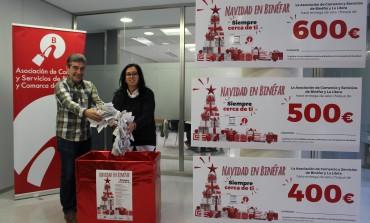 Los premios de la Campaña de Navidad en Binéfar se reparten por las comarcas