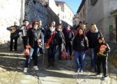 Fonz celebra san Blas y santa Águeda con hogueras, la subida al madero y ronda de mujeres