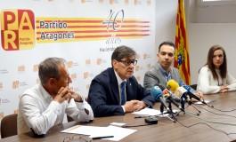 Arturo Aliaga apela a la trayectoria y garantía de servicio a Aragón, estabilidad y progreso que aporta el Partido Aragonés
