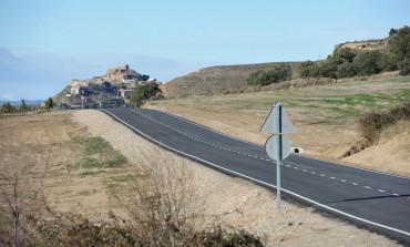 La DPH culmina las obras en la carretera entre Bolea y Puibolea con una inversión de más de 600.000 euros