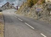 La Diputación de Huesca termina varias mejoras en accesos y carreteras de la Jacetania por más de 500.000 euros