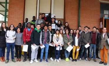 Una treintena de alumnos del IES Sierra de San Quílez de Binéfar obtienen el diploma de primeros auxilios