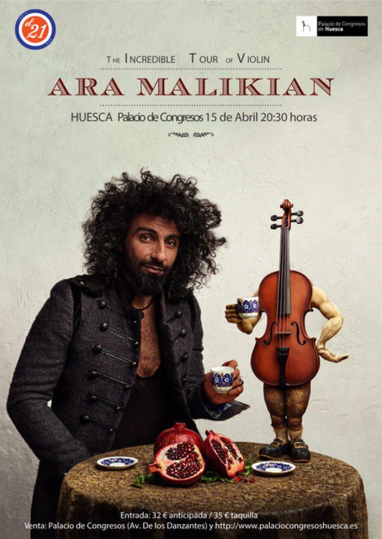 Ara Malikian presenta «La increíble gira de Violín»