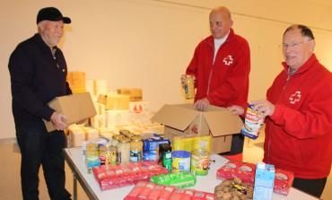Donan 1.100 kilos de alimentos para los refugiados saharauis en Binéfar