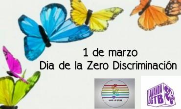 1 de marzo Dia contra la # ZERO DISCRIMINACIÓN