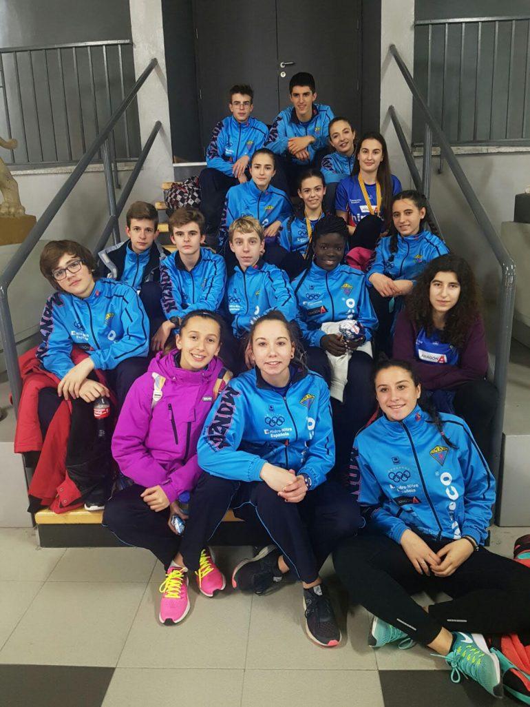 Resultados más destacados de los atletas del Centro Atlético Hinaco Monzón en las competiciones de este fin de semana