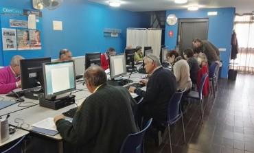 """Clausura del curso """"Mayores en red"""" del Plan de Inclusión Digital"""