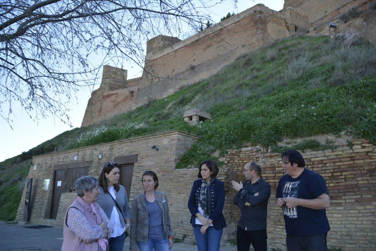 """Ciudadanos exige a Patrimonio invertir """"el dinero necesario"""" para restaurar los desperfectos ocasionados en el Castillo de Monzón"""