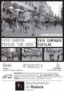 2017 Carrera San Jorge Cartel