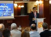 Arturo Aliaga refuerza en Huesca el compromiso del Partido Aragonés con el progreso de Aragón en Europa y al servicio de los aragoneses