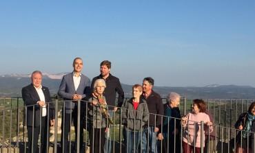 Benabarre arranca una nueva temporada turística con la reapertura del mirador de la torre del castillo