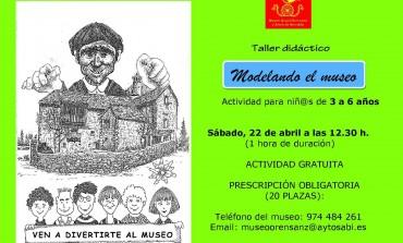 """Taller didáctico """"Modelando el museo"""""""