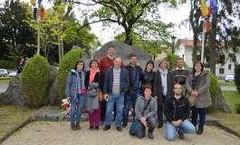 Las candidaturas de confluencia municipalista asisten al Día nacional de la Deportación en Francia