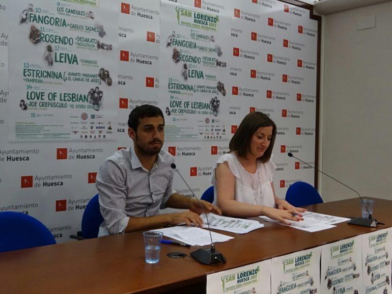 Fangoria, Rosendo, Leiva, Estricnina y Love of Lesbian encabezan el cartel de conciertos de San Lorenzo 2017