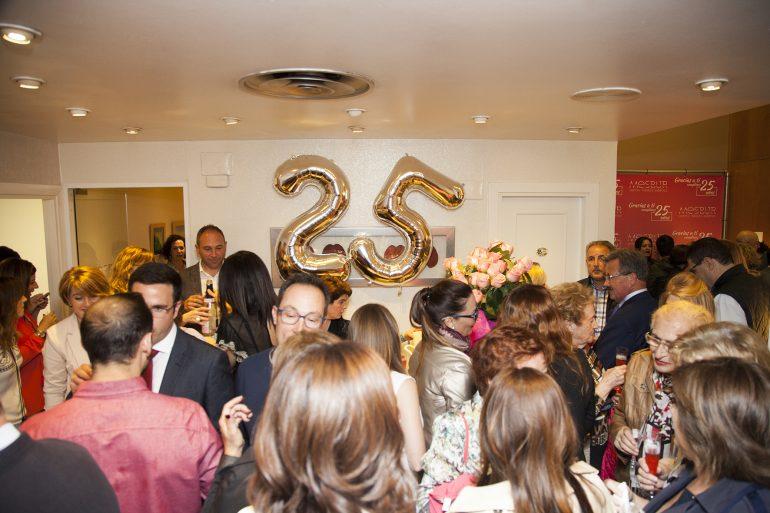 Un evento de agradecimiento por los 25 años de Mesbur