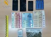 La Guardia Civil detiene a una persona por supuesto delito de tráfico de drogas