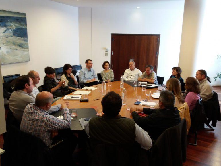 Los Grupos Leader muestran a la DPH su preocupación por complicaciones que obstaculizan su trabajo en pro del desarrollo rural y contra la despoblación