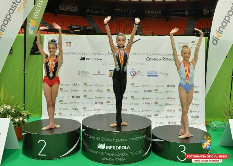 Inés Bergua toca el cielo en el Campeonato de España