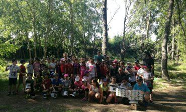 Actividad de educación ambiental en las Fuentes de Marcelo