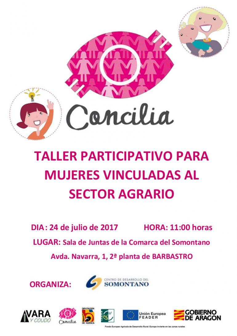 San Lorenzo del Flumen acoge el primer taller participativo para mujeres vinculadas al sector agrario