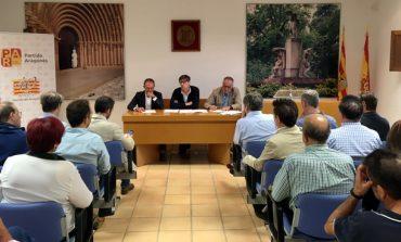 El PAR plantea en Sijena que recuperar los bienes es un deber y objetivo irrenunciable de los aragoneses y pide unidad, tesón y exigencia
