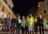 Un divertido desfile de carrozas y la presentación de las Majas  abren las fiestas de Fonz