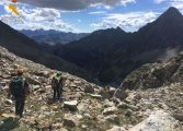 Encuentran el cadáver del montañero vasco perdido en el pico Bailatus